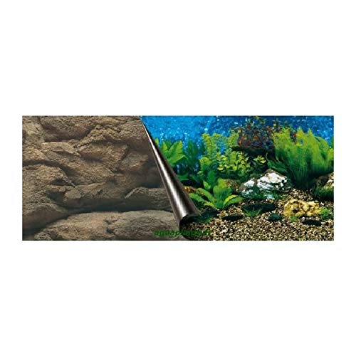 Europet Bernina 241-108772 Photo-Rückwand, 80 x 40 cm Motiv Sea und Rock