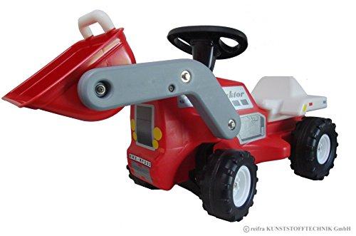 Babyrutscher Traktor rot DDR Kinderfahrzeug