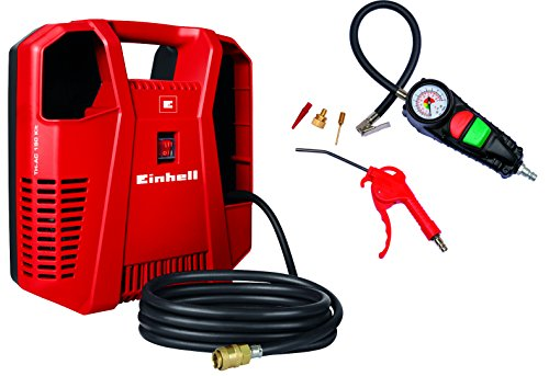 Einhell TH-AC 190 Kit Compressore, 1,1 kW, Potenza: 190 l/min, 8 Bar,...