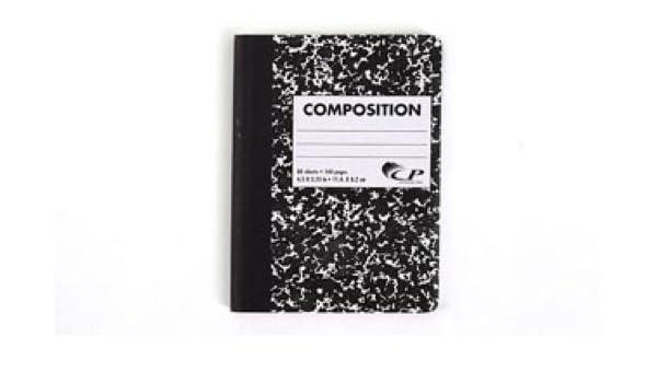 Carolina Pad Mini Marble Composition Book 80 Sheets Colo... 4.5 x 3.25 Inches