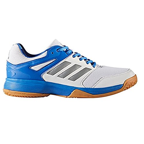 finest selection 1b73b 7b630 adidas Herren Speedcourt M Handballschuhe, Mehrfarbig (Ftwbla Nocmét Blau  000),