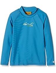 iQ-Company Kinder UV Kleidung 300 Shirt Long Sleeve, Blue, 164, 7361222444-14y164