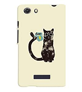 Micromax Q372 Unite 3 MULTICOLOR PRINTED BACK COVER FROM GADGET LOOKS