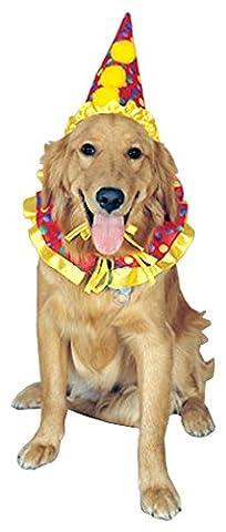 Rubies Costume Company Clown Pet Costume Collar and