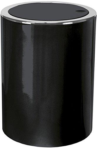 Kleine Wolke 5829926858 Kosmetikeimer Clap, 5 L, schwarz