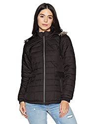 Fort Collins Womens Quilted Synthetic Jacket (89267 AZBlackM)