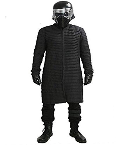 Kylo Inner Tunika Kostüm Cosplay Aktualisierte Version Deluxe Erwachsenes Mantel Kleidung für Halloween Karneval (Custom Kostüm Vader Made Darth)