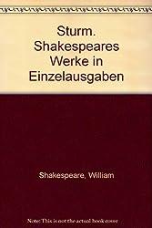 Sturm. Shakespeares Werke in Einzelausgaben