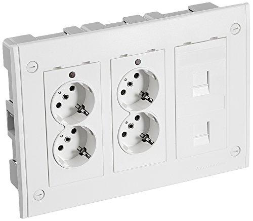 SIMON xsbm1312/9KIT Gehäuse Wandtattoo Einbauleuchte 3Gipfel mód Wand Pro (Einbauleuchten-gehäuse-kit)