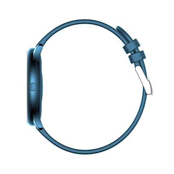 Naack Reloj Inteligente Pulsera Monitor de frecuencia cardíaca smartwatch Monitor De Ritmo Cardíaco Mujeres Hombres… 5