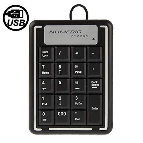 ZHANGYANENN Computerzubehör Nicht-synchrones USB-Notebook mit numerischer Tastatur und 19 Tasten -
