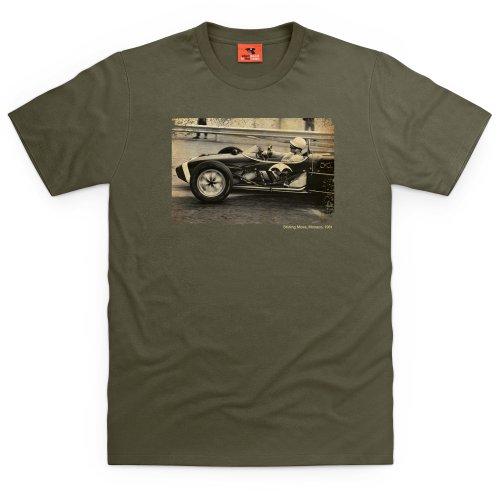 Stirling Moss Monaco T-Shirt, Herren Olivgrn