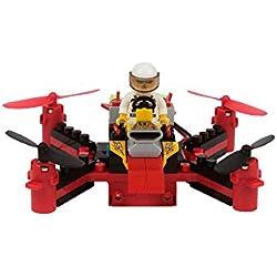 Brickdrone, construye tu propio drone con bloques y vuela