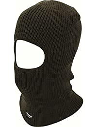 BLACK THINSULATE OPEN FACE BALACLAVA SKIING MOTORBIKE FISHING