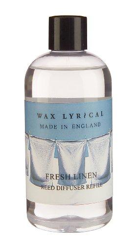 Wax Lyrical 250ml Reed Diffuser Refill, Fresh Linen
