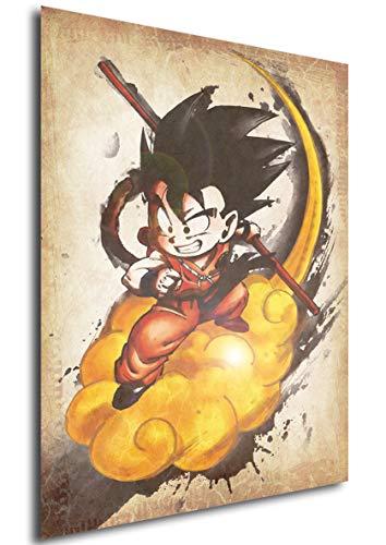 Instabuy Poster Dragon Ball Wanted Goku Variant -