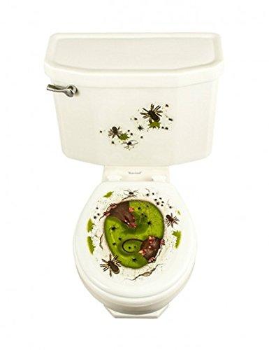 Decalcomania topi nella melma per wc - adesivo rimovibile
