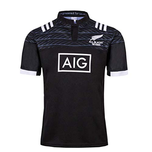 Drg0n All Black Team Seven Person Olive Clothing 18 19 Seven Player Rugby Jersey