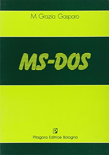MS-DOS por M. Grazia Gasparo