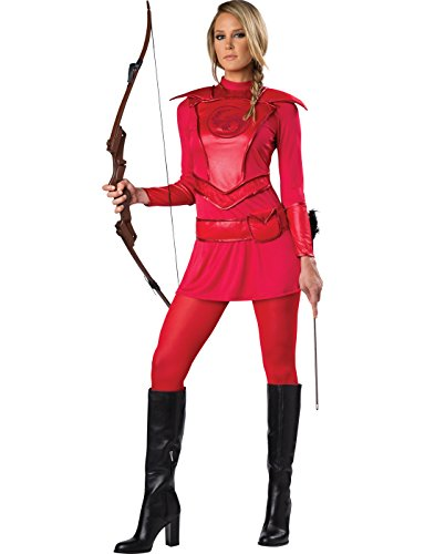 Huntress Red Warrior Women Costume