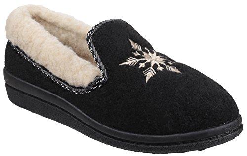 Mirak Pantofole donna Black