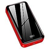 Horcol Batterie Externe 26800mAh, Chargeur Portable [ Affichage Numérique Intelligent de L'alimentation LCD] Ultra-Haute Capacité Power Bank avec 2 USB Ports Batterie