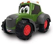 Dickie Toys 193367 Happy Fendt Traktor, Grön, 25 cm