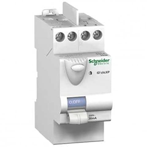 Interrupteur différentiel ID'Clic XP 40A, 30mA, peignable Type AC -