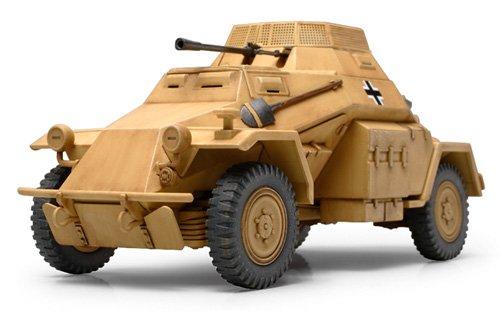 TAMIYA 300089777 - Kampfpanzerwagen (SD.KFZ.) 222, Militär-Bausatz 1:48