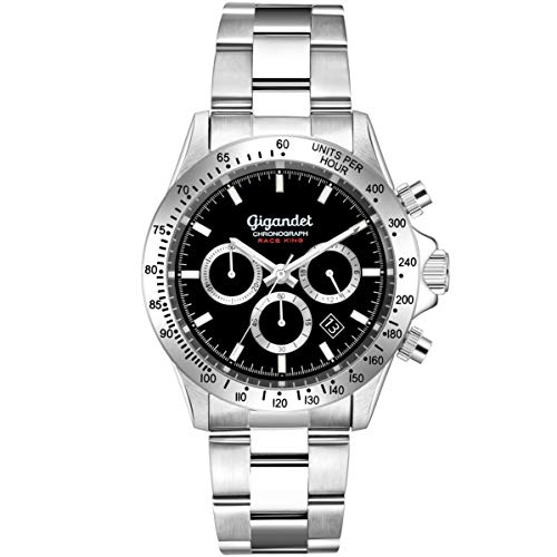 Gigandet Herrenuhr Analog mit Edelstahlarmband Quarz Race King G33-002 - Invicta Replica Watches