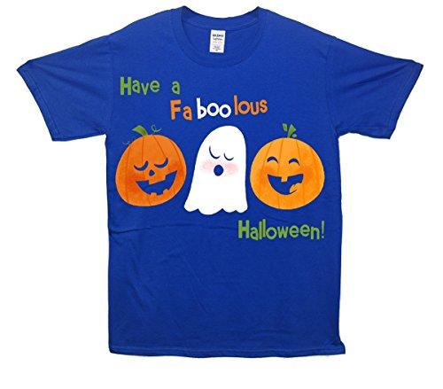 Hanno una maglietta FaBooLous Halloween Blu