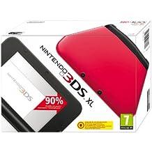 Nintendo 3DS - Consola XL, Color Rojo Y Negro