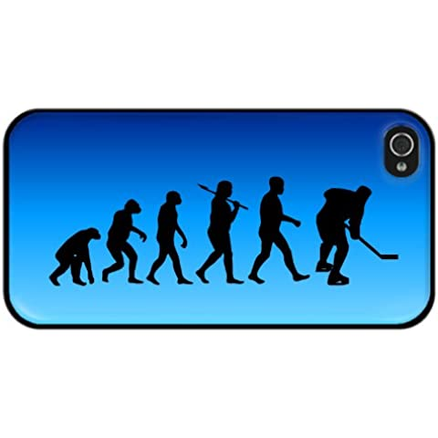 Evolución de Hockey sobre hielo diseño iPhone 5 o 5S cubierta