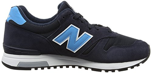 New Balance 565, Chaussures de Running Entrainement Homme Multicolore (Navy 410)