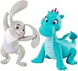 Disney Junior Toy - Sofia the First Animal Friends 2 Action Figure - Clover Rabbit - Crackle Dragon