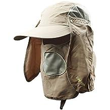 e2eefc627a0b7 Unisex Sombrero de sol gorra visera béisbol deporte secado rápido protección  solar sombrero de Plein