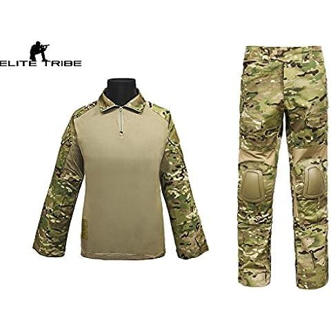 os hombres de caza paintball airsoft militar uniforme de combate gen2 CYPE estilo táctica uniforme Multicam MC (M)