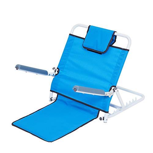 YMJJ Verstellbare Rückenlehne, tragbare klappbare Rückenlehne mit Armlehnen, für Lordosenstütze, leicht aufzustehen