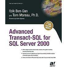 Advanced Transact-SQL for SQL Server 2000