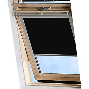 Bloc Skylight C01/Rollo f/ür Velux Dachfenster Blockout schwarz
