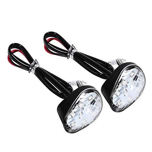 Indicatore di Direzione,Indicatore LED per Motocicli Lampada da Incasso a Filo Color Ambra per YZF R1 R6 FZ1 FZ6