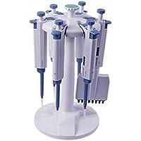 Nueva pipeta rotación de Carousel soporte, soporte para seis pipetas