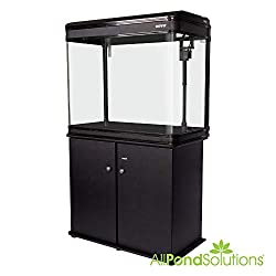 Boyu Aquarium Fish Tank and Cabinet with LED Lighting, 84 cm, 198 Litre