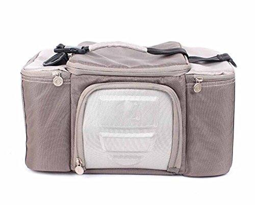 Outdoor-Kühltasche Kühltasche Picknick-Tasche Gefrorenen Beutel Tragbare,Grey