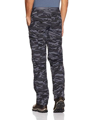 Columbia Herren Silber Ridge bedruckt Cargo Pants Schwarz-Camo