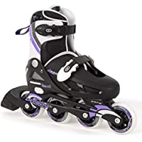 Osprey Girls Inline Skates Adjustable Roller Skates - Purple