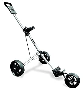 Longridge Alu Pro Three Wheel Golf Trolley - Silver