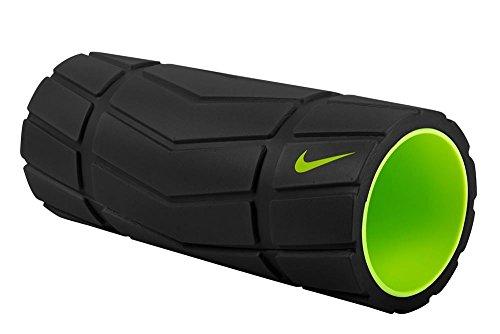 Nike Adultos Recovery Foam Roller 13en Fascia Rollo, Black/Volt, One Size