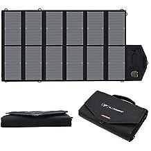 ALLPOWERS 80W Cargador Solar Plegable Panel Solar (USB Dual 5V con la Tecnología iSolar +
