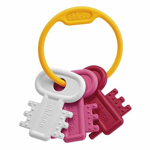 chicco-63216100000-mordedor-con-diseno-de-llavero-color-rosa